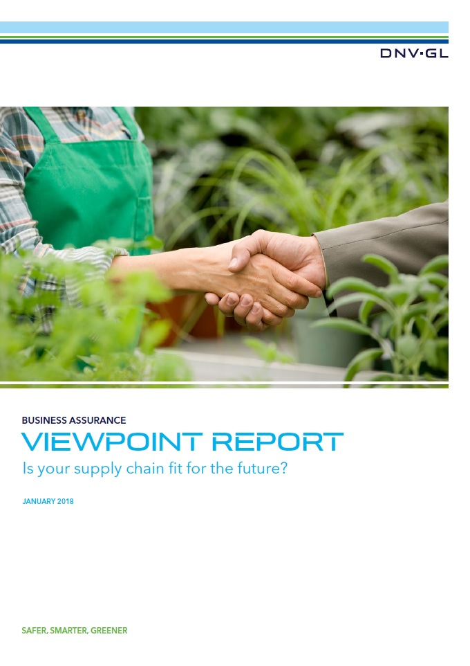 Viewpoint Report : Is your supply chain fit for the future?
